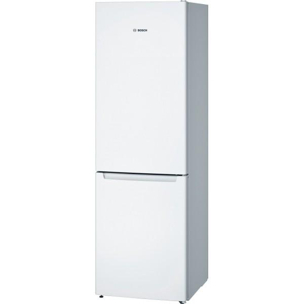 NoFrost - Хладилник с фризер, Multi Airflow, бял Свободностоящи уреди