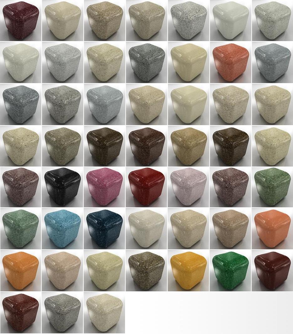Цветове за мивки от граниксит